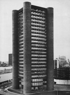 fuckyeahbrutalism:  Knights of Columbus Building, New Haven, Connecticut, 1967-69 (Kevin Roche, John Dinkeloo Associates)