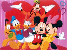 Disney Movie - Who Does Love Mickey Mouse and the rest of the Disney Characters! ;-)