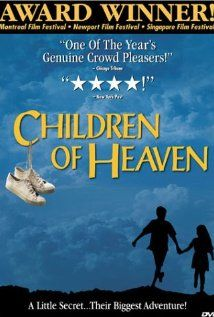 [ Children of Heaven (1997 ) بچه های آسمان (original title) ] : When Ali loses his sisters shoes, the two decide to share his to avoid getting in trouble.