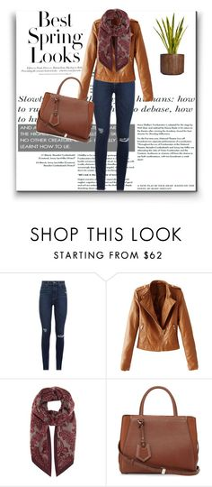 """spring"" by dreamer3108 on Polyvore featuring Paige Denim, H&M, WithChic, Loro Piana, Fendi, Laura Ashley, women's clothing, women, female and woman"