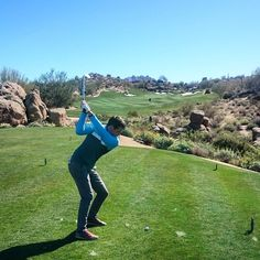 Favourite hole at Estancia!! Yes I made birdie #Estancia #golf  #scottsdalegolf  #birdie # #GolfandGrow #AZGolf