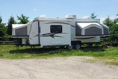 Woodland Park Model by Country Garden RV Park would like to wish you a very happy Civic Holiday weekend. Long weekends are better in a Park Model Home or RV. If you are looking for an affordable RV, we just listed a 2014 Roo 233S - $18,500. This RV is in mint condition and we offer financing OAC. The RV contains everything you need to make your traveling effortless and straightforward. This hybrid features a sofa sleeper, a U-shaped bench dinette & sleeps up to 10 people. Start enjoying… Luxury Rv, Luxury Camping, Park Model Homes, Bed End, Used Rv, Sofa Sleeper, Woodland Park, Roof Vents, Rv Parks