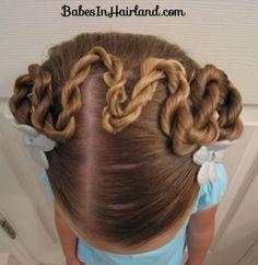 Rope/Twist Braid Switchback from BabesInHairland.com #twists #ropebraids #hair