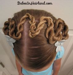 Rope/Twist Braid Switchback from BabesInHairland.com #twists #ropebraids #hair