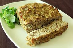 Quinoa Meatloaf- can use turkey instead, but it doesnt have as much oil as beef. May need to compensate for that.