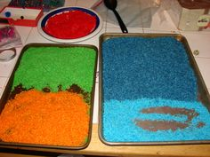 Dyed Rice