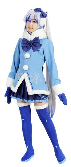 Milica Books VOCALOID SNOW MIKU Cosplay Costume Size S ** Check out this great product.