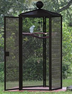 Suncatcher Four Foot Diameter Outdoor Designer Bird Cage