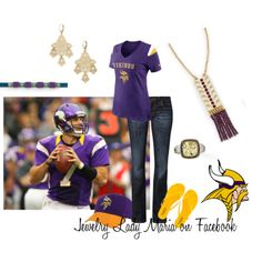 Minnesota Vikings featuring lia sophia jewelry