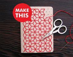 Curious Doodles DIY Embroidery Notebook