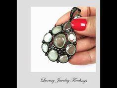 Peridot and Diamond Pendant, Gift Ideas for Women