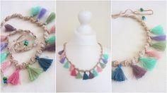 Kockás világ Tassel Necklace, Tassels, Jewelry, Jewlery, Jewerly, Schmuck, Jewels, Tassel, Jewelery