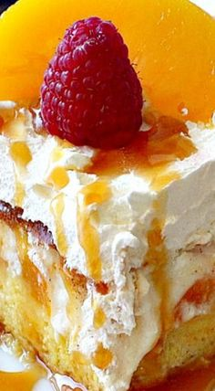 Peaches & Cream Cheesecake