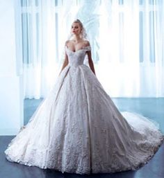 Ball gown Wedding Dresses M_1795