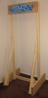 How To Set Up Your Freestanding Climbing Hangboard without Drilling Holes in Your Walls