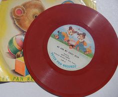 Me and My Teddy Bear   Peter Pan Record 78 rpm