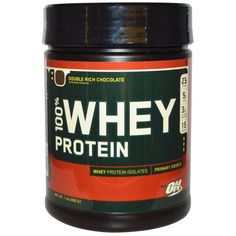 sports-fitness-athletic: Optimum Nutrition, 100% Whey Protein, Double Rich ...