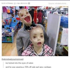 This is terrifying. lol