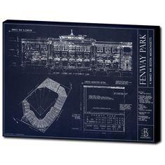 Fenway Park Blueprint