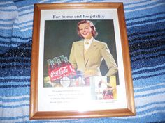 Coca Cola Advertisement  1951 by augiesvintagefinds on Etsy, $10.00