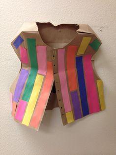 Joseph's coat of many colors.
