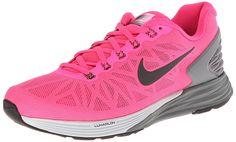 b37c2fd9e4034 nike womens lunarglide 6 running trainers 654434 sneakers shoes (uk us 6 eu hyper  pink black-pure platinum-cool grey