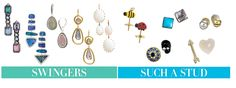 Have you tried mixing your earrings?