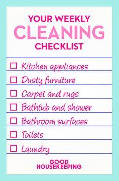7 Things You Should Clean Every Single Week