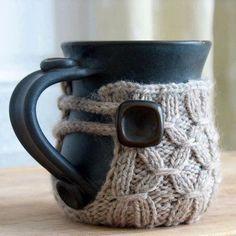 Now I feel like I need a mug sweater. @Allison j.d.m Bramlett London, knit me one?