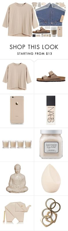 """live simply and naturally"" by undercover-martyn ❤ liked on Polyvore featuring Wrangler, Chicnova Fashion, Birkenstock, NARS Cosmetics, Guide London, Shabby Chic, Laura Mercier, Christian Dior, Kate Spade and Rachel Leigh"