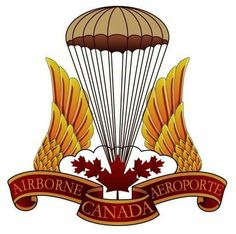 Canadian Parachute Battalion, from Birth to Combat Canadian Soldiers, Canadian Army, Canadian History, Military Insignia, Military Art, Military History, Airborne Tattoos, Badges, Paratrooper