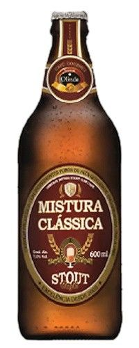 Cerveja Mistura Clássica Stout Café, estilo American Stout, produzida por Mistura Clássica, Brasil. 7% ABV de álcool.
