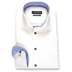 Ledub regular fit strijkvrij overhemd 0131829-910-160-670