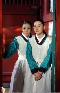 """Dae Jang Geum (Hangul: 대장금; hanja: 大長今;RR: Dae Jang-geum; MR: Tae Chang-gǔm; literally """"The Great Jang-geum""""), also known as Jewel in the Palace, is a 2003 Korean television series.Starring Lee Young-ae in the title role, it tells the tale of an orphaned kitchen cook who went on to become the king's first female physician. Korean Traditional, Traditional Fashion, Traditional Outfits, Korean Hanbok, Korean Dress, Korean Actresses, Korean Actors, Actors & Actresses, Korean Star"""