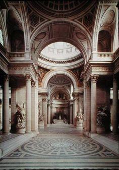 Das Kunstwerk Interior view - Jacques Germain Soufflot liefern wir als Kunstdruck auf Leinwand, Poster, Dibondbild oder auf edelstem Büttenpapier. Sie bestimmen die Größen selbst.