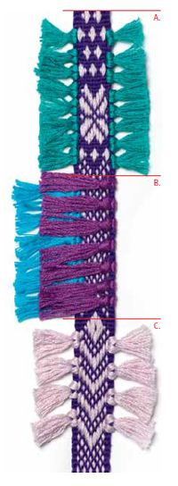 """""""From Little Inkle Looms, Passementerie Grows"""" an article by KHonde"""