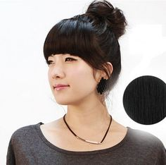 """Silver J Fringe clip in hair extension, 100% human hair forelock wig, instant hairpieces, party hair style, Jet Black by Silver J. $28.98. Deliver to UK and International destinations. Ideal for having a quick fringe, no need to cut hair for front fringe. Natural looking.. Size : approximately 14cm (5.5""""), side fringe 17cm (6.7""""). Create instant fringe hair instead of cut your own hair, and take it off easily.. Fringe clip in hair extension made with good quality 100% human ..."""