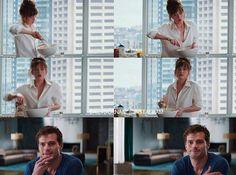 Fifty Shades of Grey scenes Jamie Dornan and Dakota