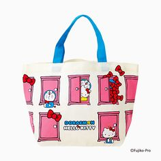DORAEMON × HELLO KITTY mini tote & confectionery