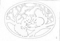 Scroll saw patterns 815292338766399933 Pumpkin Stencil, Stencil Diy, Stencils, Paper Cutting Patterns, Wood Carving Patterns, Glass Painting Designs, Paint Designs, Christmas Ornament Template, Coloring Books