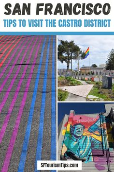 Explore our famous LGBTQ District, the Castro. It's full of interesting and colorful things to do! #castrodistrict #lgbtqtravel #sanfranciscodistricts