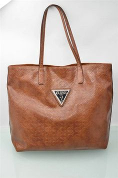 Guess Purse Claudia Brown Signature G Tote Bags Shoulderbag LG HandBag NWT