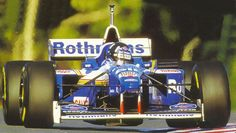 Damon Hill WC 1996, Williams Renault