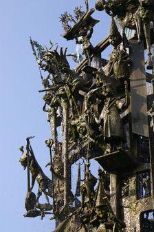 "Details of the famous ""Fastnachtsbrunnens"" on Schillerplatz in Mainz. ©Landeshauptstadt Mainz"