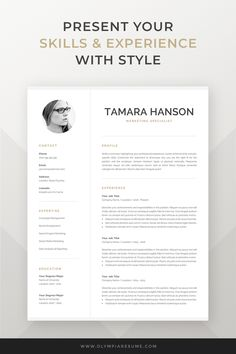 299 Best Resume Templates for Mac Pages images in 2019 ...