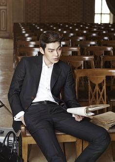 "Kim Woo Bin for ""InStyle"" Magazine Jung Woo Sung, Lee Hyun Woo, Lee Jung, Lee Jong Suk, Korean Celebrities, Korean Actors, Korean Dramas, Celebs, Kim Wo Bin"