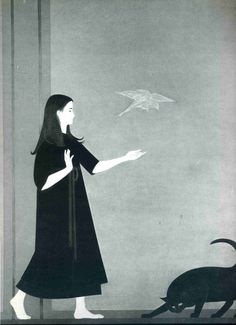 Will Barnet was an American artist known for his paintings, watercolors, drawings, and prints depicting the human figure and animals, both in casual scenes of daily life and in transcendent dreamlike worlds.