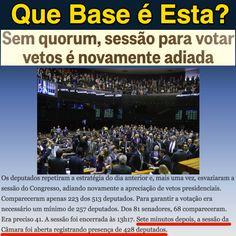Que Base é Esta? ➤ http://politica.estadao.com.br/noticias/geral,nao-e-comigo--diz-cunha-sobre-esvaziamento-de-sessao-do-congresso,1776133 ②⓪①⑤ ①⓪ ⓪⑦