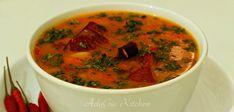 Ciorba de legume reteta simpla si rapida - Adygio Kitchen Romanian Food, Thai Red Curry, Carne, Ethnic Recipes, Kitchen, Mai, Youtube, The Creator, Soups