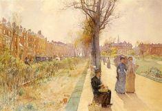 Childe Hassam Boston Common 1891
